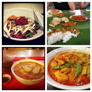 Lovely spicy food in KL